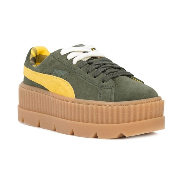 timeless design b110a 689bc Puma fenty creeper sneakers